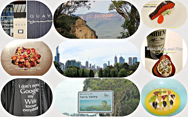 A tour of Melbourne Australia along with the Yarra Valley on Wine Dine And Play