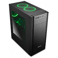 Gearbest Wider X1 Computer Case PC Mainframe for Gaming - BLACK