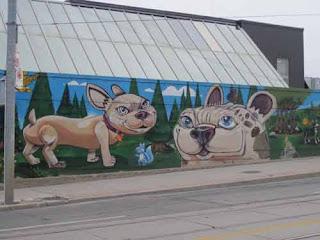 Dogs Uber 500 Mural Toronto Humane Society