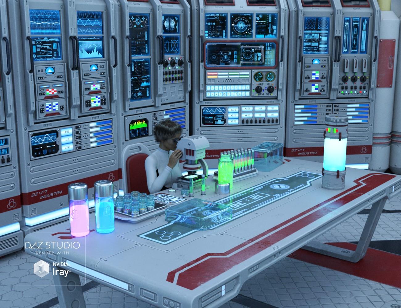 Download Daz Studio 3 For Free Daz 3d Sci Fi Lab Props