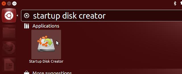Ubuntu Startup Disk Creator