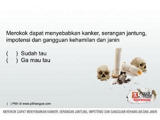 iklan dilarang merokok