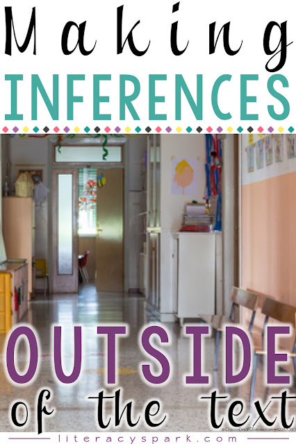 Do your primary students have trouble making inferences?  Try teaching them to make inferences outside of the text first!  Use these daily opportunities to teach students what it means to make an inference