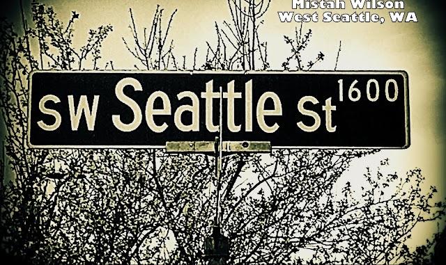 Southwest Seattle Street, West Seattle, Washington by Mistah Wilson