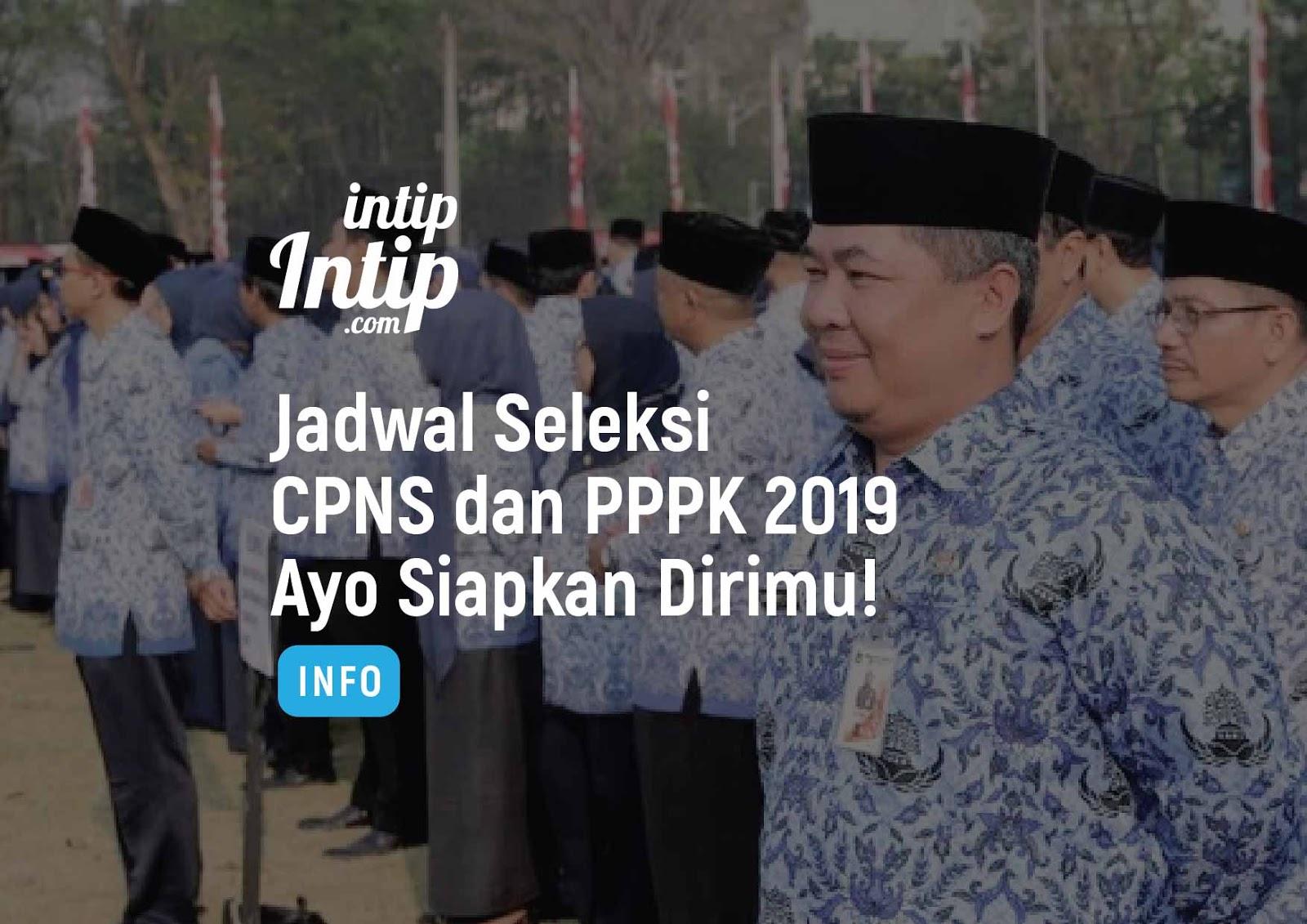 Jadwal Seleksi CPNS dan PPPK 2019