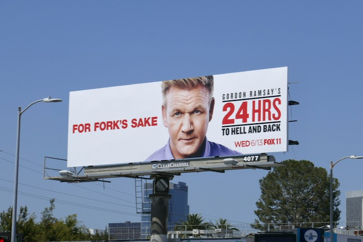 Gordon Ramsey 24 Hrs season 1 billboard