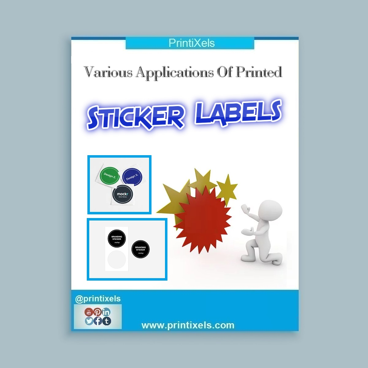 Various Applications of Printed Sticker Labels