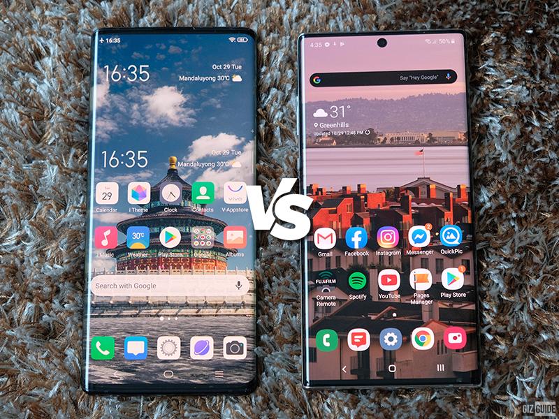 Samsung Galaxy Note10+ vs Vivo NEX 3 Specs Comparison