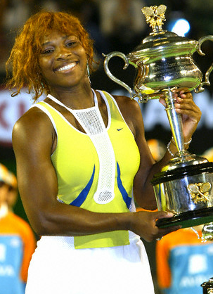 brand new 2c374 51cb0 I do like Serena in yellow, but this Nike kit was weird and I did not love  Serena s reddish hair. What was that neck adornment meant to be
