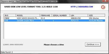 Download HDD Low Level Format Tool