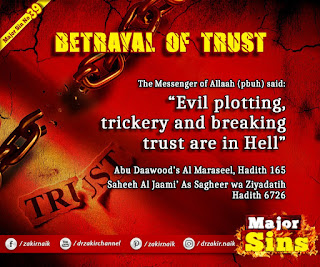 MAJOR SIN. 39.2. BETRAYAL OF TRUST