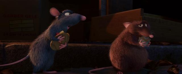 Remy Yelling at Emile Ratatouille Pixar