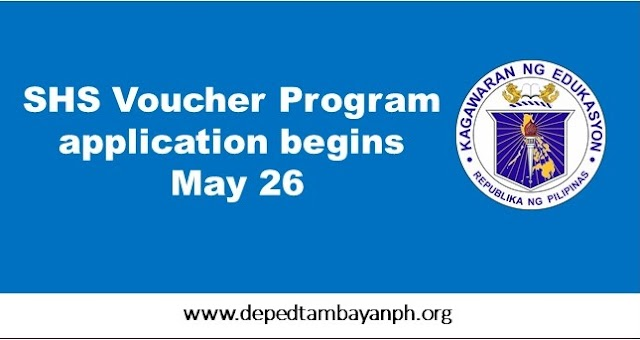 Senior High School voucher program application begins May 26