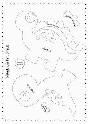 Moldes Dinossauros Para Imprimir Molde Para Imprimir