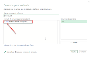 Power Query: Try-Otherwise-Gestionando Errores