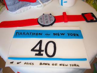Detalle dorsal maraton de Nueva York