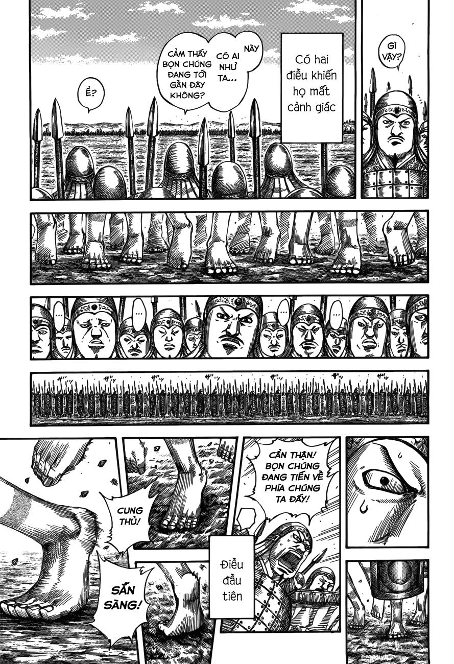 Kingdom chapter 518: chiến địa liêu dương trang 12
