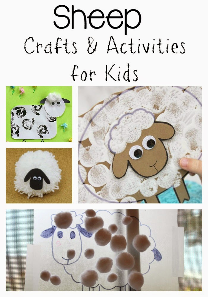 Sheep Crafts And Activities For Kids Still Playing School