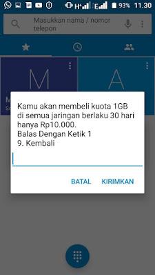 kali ini admin hhandromax bagikan informasi promo paket internet Tri Paket Internet Tri 1GB Rp10.000 Berlaku 30+ Hari