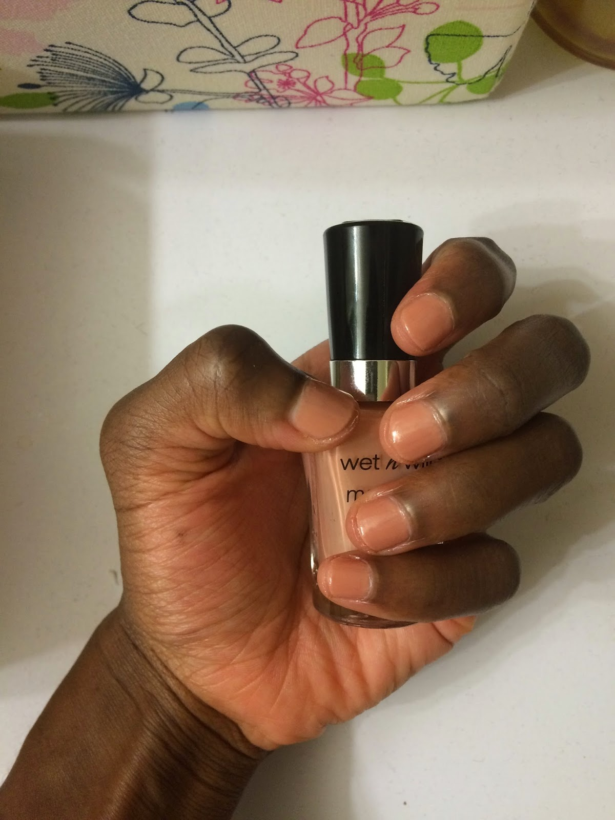 Wet N Wild Private Viewing on dark skin
