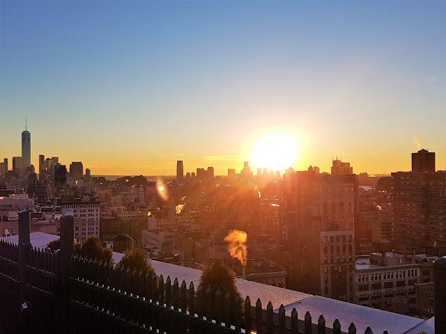 bästa takbar för solnedgång i New York
