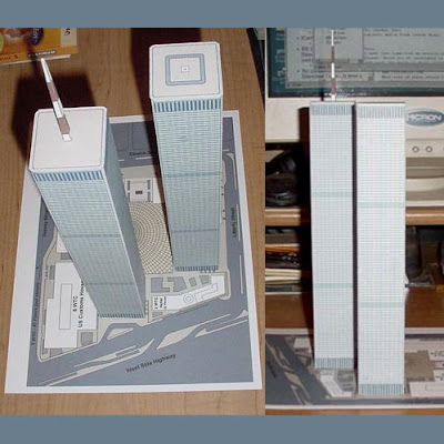 Twin Towers Papercraft