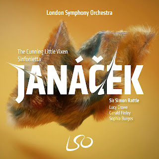 Janacek The Cunning Little Vixen; Lucy Crowe, Gerald Finley, London Symphony Orchestra, Simon Rattle; LSO Live
