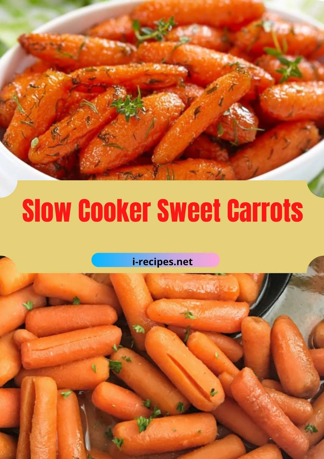 Slow Cooker Sweet Carrots