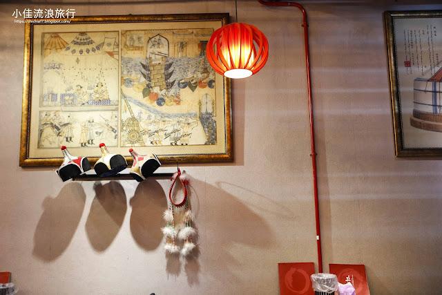 三峽蒙古紅店內用餐環境
