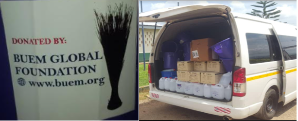 The Buem Global Foundation (BGF) Donates Over 33,000 Cedis Worth Of PPES To 21 Buem Health Facilities In The Jasikan District Of The Oti Region Of Ghana.
