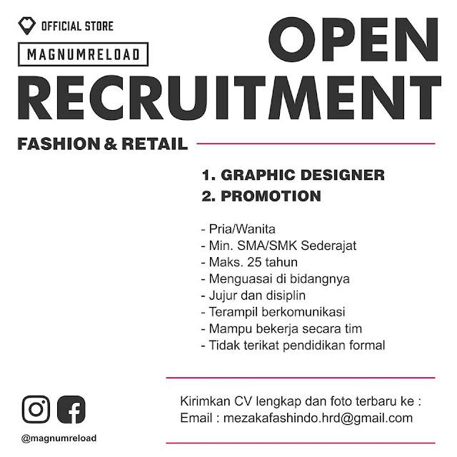 Lowongan Kerja Fashion & Retail