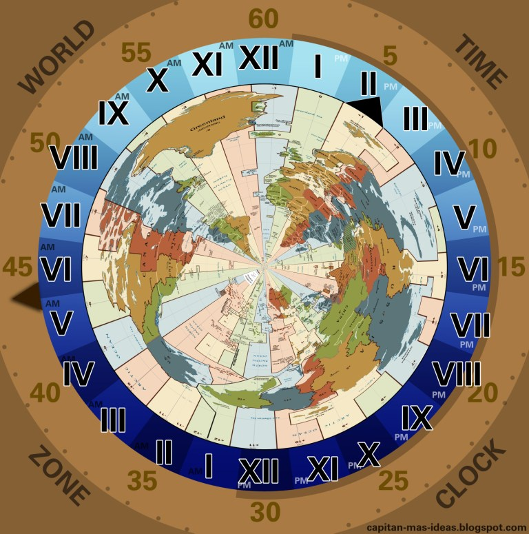 Mi laboratorio de ideas time zone clock time in cet zone 244 pm have a look to the central european stripe pointing 2 pm and to the external clock for the minutes in which the arrow is gumiabroncs Image collections
