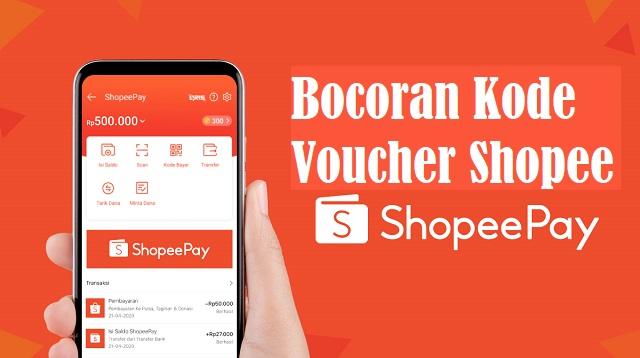 Bocoran Kode Voucher Shopee
