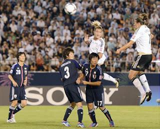 ヤングなでしこ日本対ドイツ