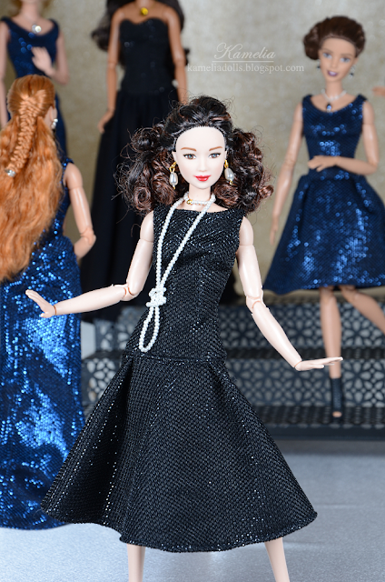Handmade outfits for Barbie dolls