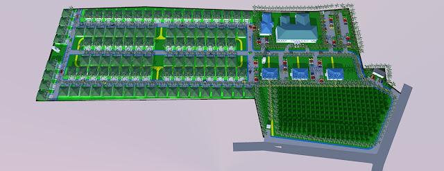 Site Plan Rumah Sakit