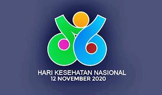 Logo hari kesehatan nasional png vector