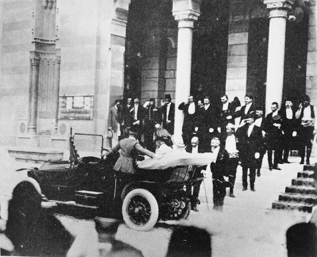 Fotografías del archiduque Francisco Fernando de Austria el día del atentado en Sarajevo