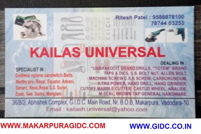 KAILASH UNIVERSAL - 7874403253