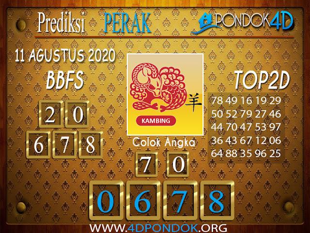 Prediksi Togel PERAK PONDOK4D 11 AGUSTUS 2020