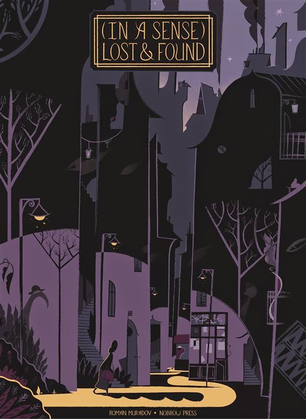 (In a sense) Lost and Found bd bande-dessinée auteur scénariste coloriste encreur dessinateur illustrateur