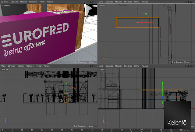 Eurofred Stand Eurofred Alimentaria Eurofred agencia de Eurofred publicidad creativa Kellenföl Advertising.