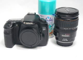 Kamera Bekas Canon EOS 60D + Lensa 28-105mm