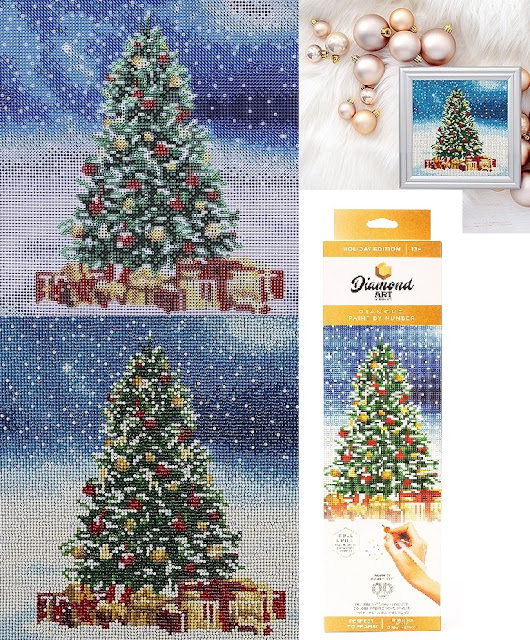 Christmas Tree Diamond Art Kit