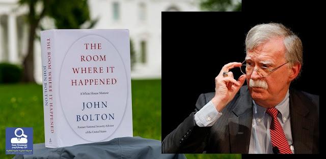 مذكرات جون بولتون تكشف حقائق مذهلة حول دونالد ترامب، فهل هي لعنة كرد سوريا سوف تتسبب بإسقاط الرئيس في الانتخابات القادمة؟!!