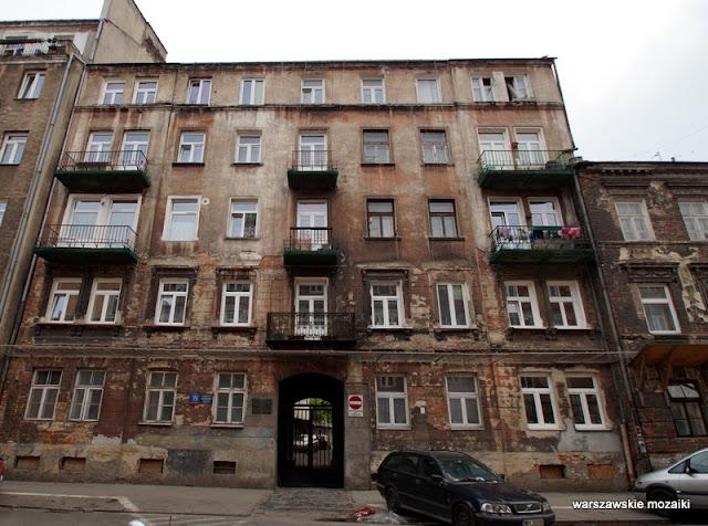 Warszawa Warsaw kamienica raga północ architektura warszawskie kamienice