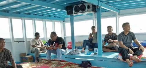 Berlayar Dari P Lambego, Pagi Ini, Bupati Selayar, Tiba ,Di Pulau Bembe