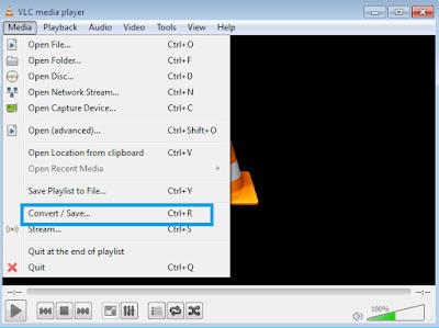 Cara Convert Video Menjadi Mp3 Di Laptop Pakai VLC Media Player  Mendengar musik terkadang lebih asik kalau dalam format Mp3, tetapi karena musik yang disukai ternyata hanya tersedia dalam format video terpaksa harus mencari ide bagaimana caranya mengkonversi video musik menjadi Mp3.  Sebab itu di artikel ini kami membahas salah satu cara convert video menjadi Mp3 di laptop yang nanti dapat dikirim ke perangkat android, iphone, atau perangkat lainnya, yaitu VLC Media Player.  VLC Media Player adalah media pemutar video maupun audio dalam berbagai format yang sangat relevan juga untuk digunakan sebagai alat convert video menjadi Mp3 di laptop.  Aplikasi yang dapat digunakan untuk melakukan convert video menjadi Mp3 ini sangatlah portabel, terutama untuk melakukan pekerjaan yang sesuai dengan pembahasan pada artikel ini.  Ok, buat kalian yang penasaran bagaimana cara convert video menjadi Mp3 di laptop pakai VLC Media Player silahkan ikuti penjelasan kami di artikel ini sampai selesai.  Tips Cara Convert Video Menjadi Mp3 Di Laptop Pakai VLC Media Player Ok langsung saja yah kita bahas tips cara convert video menjadi Mp3 di laptop pakai VLC Media Player : 1.Pastikan di laptop kamu sudah terinstal aplikasi VLC Media Player (Kalau belum silahkan instal dulu yah, di internet ada banyak software gratisnya)   2.Klik menu Media, kemudian klik sub menu Convert/Save (Ctrl+R)   3.Selanjutnya akan dibawa ke lembar kerja melakukan convert video menjadi Mp3 berikut ini   4.Kemudian klik tombol Add untuk mencari dan memilih video yang akan kamu convert menjadi Mp3, jika sudah ketemu video yang kamu covert maka langsung saja klik tombol Convert/Save.   5.Lakukan pengaturan format tujuan convert menjadi Audio-Mp3 di profile, klik tombol browse untuk menentukan folder tempat penyimpanan file yang akan dihasilkan, ceklis display output, dan atur destination file seperti yang telihat pada gambar berikut ini.    6.Klik tombol Start dan tunggu sampai proses convert video menjadi Mp3 paka