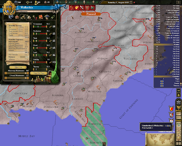 Europa Universalis 3 - Economy Screenshot