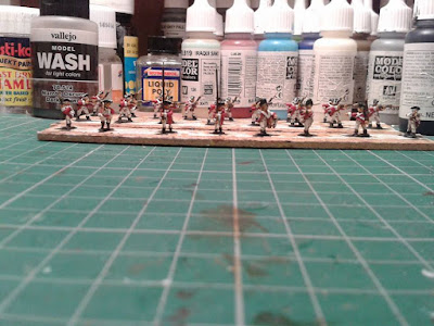 43rd Regiment of Foot coming along nicely just details to add